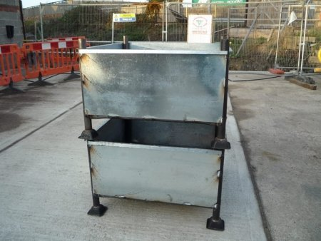 Standard scaffold fitting bin for sale at gilray plant