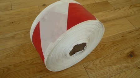 a 500m roll of scaffold sleeving