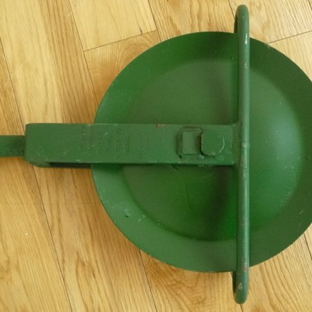 a green scaffold gin wheel for sale at gilray plant