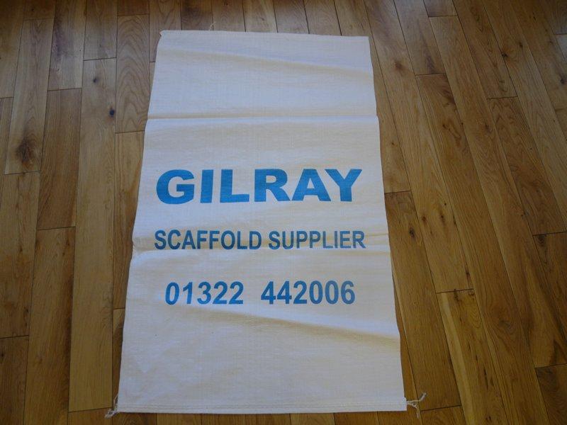 Fitting Sacks Rubble Sacks Price Per 10 Gilray Plant Ltd
