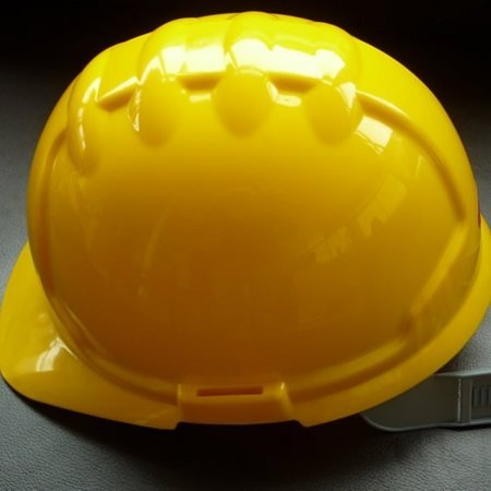 Yellow hard hat for sale at gilray plant
