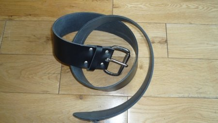 heavy duty Leather belt for sale at gilray plant