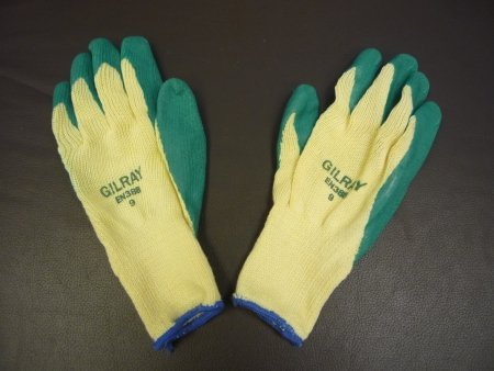 A pair of scaffold gloves for sale from Gilray Plant