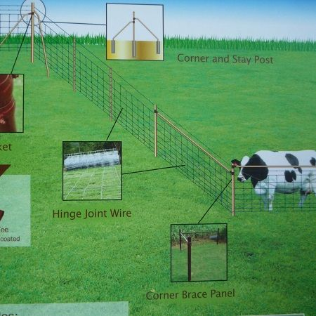 A visual representation of the MetalMann fencing system for sale at gilray plant