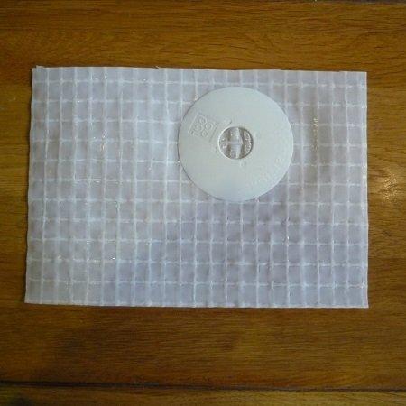 A sample of Monarflex Super T Plus Firesmart sheeting