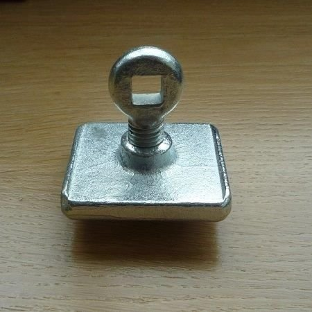 screw plate unit on a table