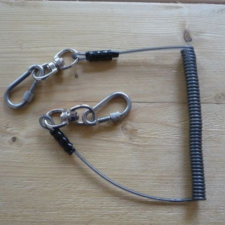 Spanner Lanyard on a table